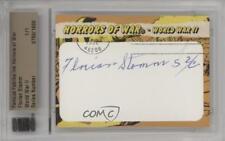 2011 Famous Fabrics Ink Horrors of War Cut Signatures 750 Florian Stamm Auto 0j6