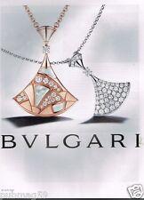 Publicité advertising 2014 Les Bijoux BULGARI