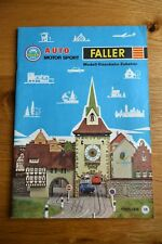 German Faller Sales Brochure Catalogue Katalog Diecast