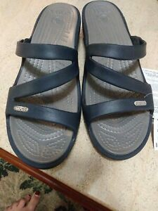 Womens Crocs Patricia Sandal size 10W New Tagged Without Box