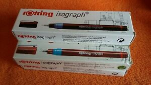 Rotring Isograph Pen .50mm Technical Drawing Ink Pen Boxed ~NEW OLD STOCK