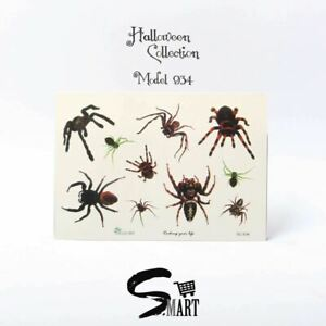 HALLOWEEN SHOP! Poisoned Scary Hairy Spiders Insects Invasion Conjuring SC934