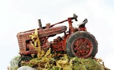RUSTED out Derelict Farm Tractor......LEFT to RUST Painted for you N Scale