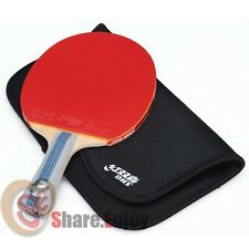 DHS DOUBLE HAPPINESS 6002A TABLE TENNIS RACKET PING PONG 6 STARS LONG HANDLE