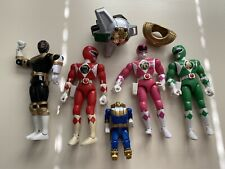 Power Rangers Figures Weapon (?) Miscellaneous Toy Lot 7 Pieces