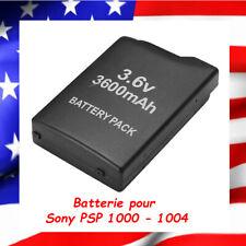 Straße Game 3600mAh Batterie pour Sony PSP 1000-1004