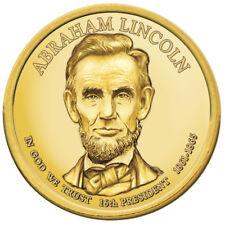 2010-P Abraham Lincoln Presidential Dollars Rim Positions A & B - 2 coins!