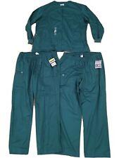 Wonder Work Scrub Lot 2X Womens Green Stretch Nwt Pants Scrub Jacket