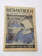 1957, Heimatbuch. des Grenzkreises Kempen-Krefeld Kalender fur das Yahr 1958