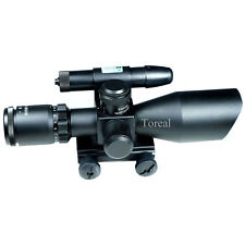 Airsoft 2.5-10x40 Riflescope / Green & red Dot Dight w/Gree laser Sight Hunting
