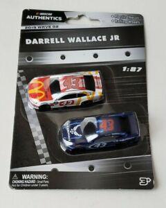 2019 Wave 02 Darrell Wallace Jr. 1/87 Plastic NASCAR Authentics Twin Pack