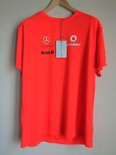 Hugo Boss Vodafone McLaren Mercedes Formula 1 Shirt Orange Mens Size XXL