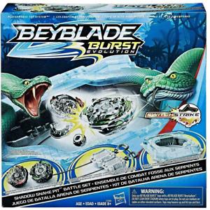 BEYBLADE BURST Evolution Switch Strike Shadow Snake Pit Battle Set Hasbro E2460