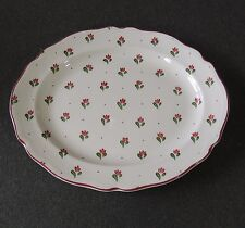 "Johnson Brothers England Stoneware Bonjour 11 3/4"" Oval Serving Platter EUC"