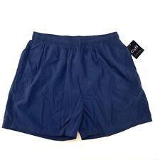 CROFT and BARROW SPORT Mens Size XL Navy Blue Mesh Lined Swim Shorts