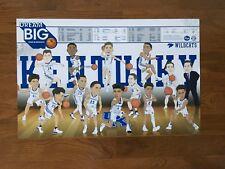 2018-19 NCAA University of Kentucky Wildcats UK Men's Basketball Poster/Schedule