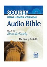 Scourby Audio Bible: King James Version Free Shipping