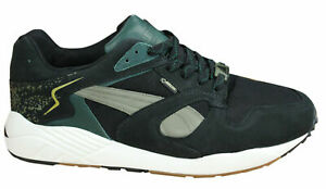 Puma Trinomic XS 850 Gore-Tex Lace Up Black Leather Mens Trainers 357047 01 B71A