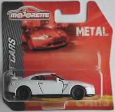 Majorette-Nissan GTR Blanc Nouveau/Neuf dans sa boîte