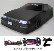 1/10 Scale TOYOTA AE86   RTR Custom RC Drift -Cars  2.4Ghz & Charger