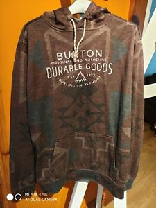 Get Ready for the Slopes - Burton Brown Snowboarding Dryride Top VGC - M