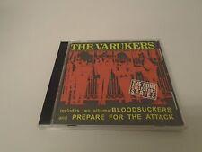 The Varukers – Bloodsuckers / Prepare For The Attack CD UK PUNK TWOFER