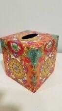 World Market Colorful Tissue Box Cover