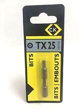 C.K TORX SCREWDRIVER BITS  TX25   T4557T 25T