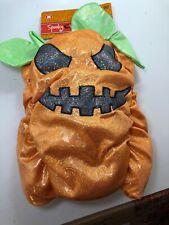 PUMPKIN Pet Dog Halloween Costume Spooky Village Size Medium Cute Adorable