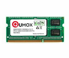 Qumox 16GB (2 x 8GB) PC3-12800 (DDR3-1600) Memory (QXDDR31600CL11SOD/8GB/LV)