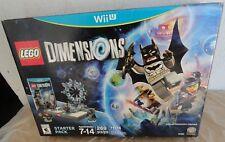 Nintendo Wii U LEGO 71174 Dimensions Batman Starter Pack 269 pcs new in box