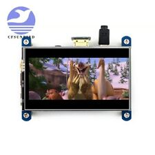 New for Raspberry display 4 inch HDMI LCD resistive touch screen IPS screen 800x