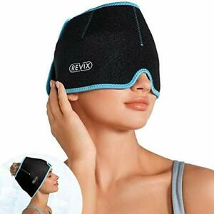 Headache Hat For Migraine Relief Ice Pack Head Wrap For Cold Therapy Pack