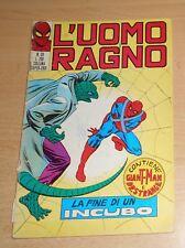ED.CORNO  SERIE  L'UOMO RAGNO  N°  39  1971   ORIGINALE  !!!!!