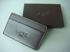 Bovet Brown Leather Card Holder