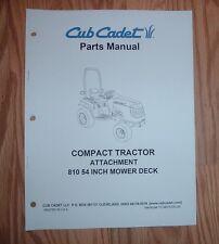 CUB CADET 6000 & 7000 SERIES 810 54 IN MOWER DECK  PARTS MANUAL