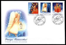 Weihnachten. FDC. Lettland 2002
