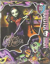 Monster High Doll CASTA FIERCE Witch Singer Set Circe 2014 1st Version New!