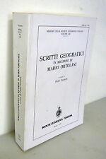 Dagradi,SCRITTI GEOGRAFICI IN RICORDO DI MARIO ORTOLANI,1999[geografia