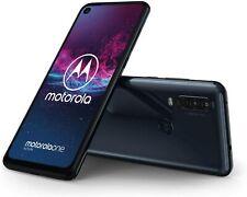 Motorola One Action 128Gb/4Gb Ram 6.5'' Fhd+ Exynos 9609, Denim Blue (Unlocked)