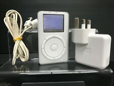 Apple iPod Classic 1st Generation White (5GB) - with Extras (Very Rare)