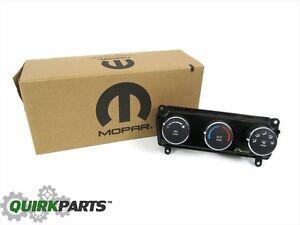 2009-2010 Dodge Challenger A/C Heater Temperature Control Head Switch OEM MOPAR
