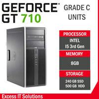 FORTNITE GAMING DESKTOP - I5 - 8GB RAM GT710 , APEX GAMING PC , CHEAP GAMING PC