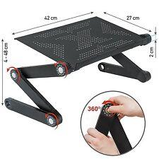 iWonder 360° Folding Adjustable Laptop Notebook Desk Table Stand Bed Riser Tray