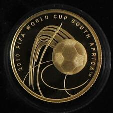 Israel 2009 FIFA Football/Soccer World Cup 2010 South Africa 1/4 oz Gold Coin