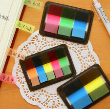 Fluorescen Sticker Marker Memo Flags Post It Bookmark Index Pad Tab Sticky Notes