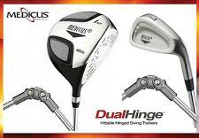 NEW Medicus 460cc Driver+ 7 Iron  Dual Hinged -training Aid Golf clubs Men RH