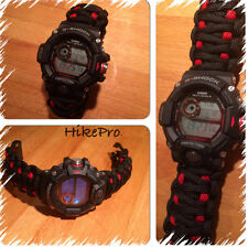 550 Paracord custom WatchBand Replacement FOR all Casio Pro Trek Rangeman Gshock
