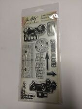 Tim Holtz Visual Artistry Collection Stampers Anonymous Clear Stamps CSS25900
