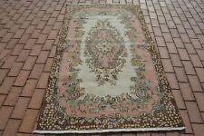Vintage Rug, Moroccan  Wool Rug, Bohemian  Kilim Rug, Area  Boucherouite Rug, Be